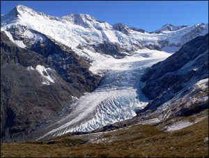 Dart Gletscher NZ